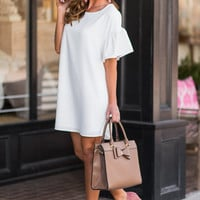 Declare Your Love Dress, Ivory