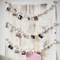 Pom-Pom String Lights with Clips