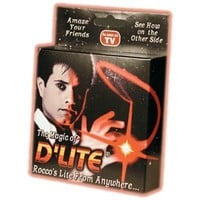D'lite - Red Pair From Royal Magic - Amazingly Simple to Perform.