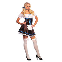 Dreamgirl Womens Carrie D. Brewski Halloween Party Costume Set