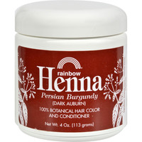 Rainbow Research Henna Hair Color And Conditioner Persian Burgundy Dark Auburn - 4 Oz