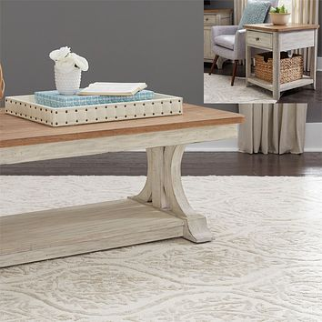 Farmhouse Reimagined Occasional Tables
