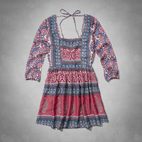 Ainsley Peasant Dress