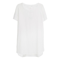 By Timo TShirt Dress in White | Les Pommettes