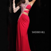 Sherri Hill 21002 Red Evening Gown