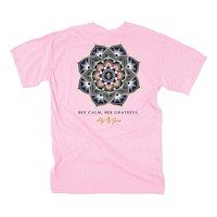 Bee Calm Tee in Blossom by Lily Grace