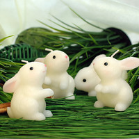 Holiday Party Supplies Creative Birthday Candles Bunny Rabbit Chinese Zodiac Cake Candles Send Men And Women Friends Gifts