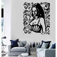 Wall Stickers Vinyl Decal Super Sexy Girl With Big Bra Boobs Sex Decor Unique Gift (z2393)