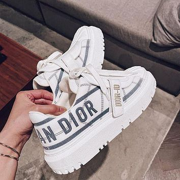 Christian Dior Fashion Sneakers Shoes
