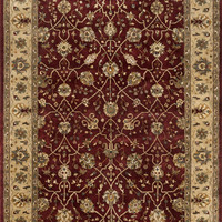 """Yorkshire Red / Light Gold 7'10"""" X 11'0"""" Rug"""