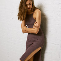 Don't Ask Why Open Back Bodycon Dress, Purple