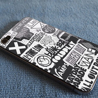 The xx, coldplay, arctic monkeys, the neighbourhood, sleeping with sirens ,The 1975 Band for iPhone 4/4S, 5/5S and iPhone 5C case.