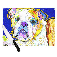 "Rebecca Fischer ""Mavis"" Bull Dog Cutting Board"