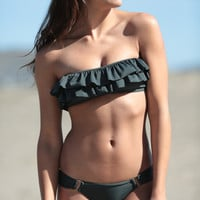 The Girl and The Water - Boys & Arrows - Carm the Con Woman Bottom Charcoal - $48.60
