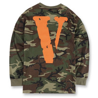 VLONE FRIENDS Green Camo Sweatshirt