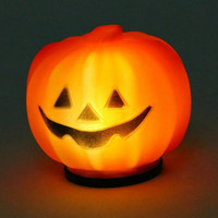 Carnival Party Lantern LED Pumpkin Night Light Halloween Decoration Props Produce Scary Atmosphere