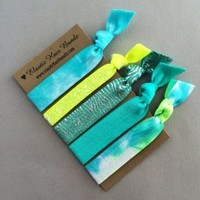 The Lena Elastic Hair Tie Ponytail Holder Collection by Elastic Hair Bandz