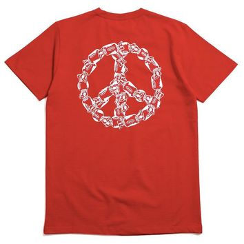 Peace Of Candy T-Shirt Red
