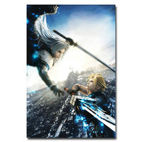 "Final Fantasy FF VII Cloud vs Sephiroth Art Silk Poster Print 24x36"" 012 AS0306"