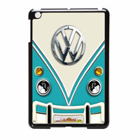 Volkswagen Blue Teal With Chrome Logo iPad Mini 2 Case