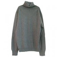 Cashmere jumper. six threads. ERIC BOMPARD Grey