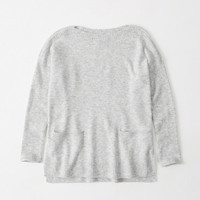 Womens Boatneck Pocket Sweater | Womens Tops | Abercrombie.com