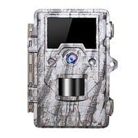 "OUDMON Trail Game Camera 16MP 1080p 30fps FHD Wildlife Scouting Hunting Cam with 940nm 48Pcs No Glow IR LEDs Motion Activated Night Vision 2.4"" LCD…"