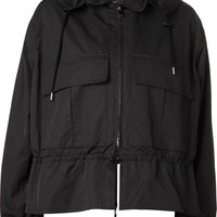 Stella McCartney matte compact taff jacket