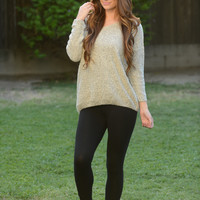 Miracle Sweater - Beige