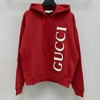 """ GUCCI"" Women Men Hot Hoodie Cute Sweater"