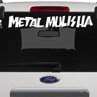 METAL MULISHA Windshield Decal Sticker