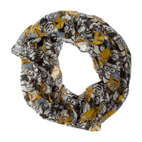 Despicable Me Minions Infinity Scarf