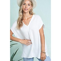 Day To Day Top (White)