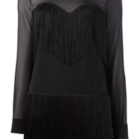 Moschino Cheap & Chic Long Sleeve Fitted Dress