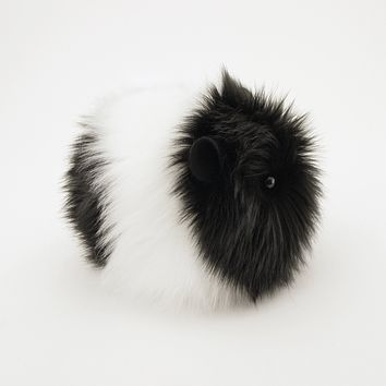 Harley the Black and White Guinea Pig Stuffed Animal Plush Toy