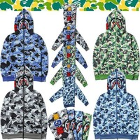 DCCK BAPE x Shark Army Defencex Hoodie (3 Colours Available)