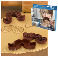 MUNCH STACHE COOKIE CUTTERS