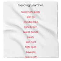 Twenty One Pilots in trending searches