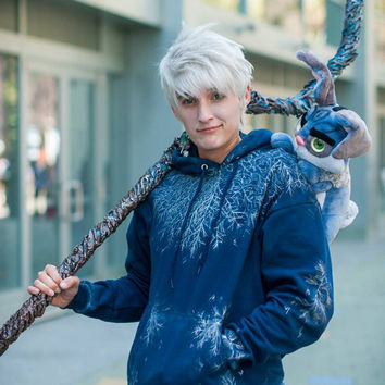 Adult Size Rise of the Guardians Jack Frost Hoodie