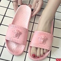Versace Sandals And Slippers Mens And Womens Fashion Slippers Shoes