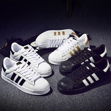 Adidas Superstar Shell-toe Flats Sneakers Sport Shoes