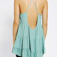 Urban Outfitters - Ecote Tiered High-Neck Cami