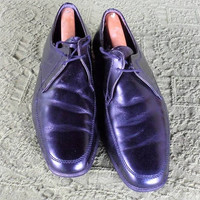Black Leather Dress Shoes / 1980's Made in Austria / Karl Reichl Schuhmacherei / Fine Leather Dress Shoes/ Pre-worn /Like New