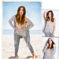 LUCY HALE + HOLLISTER