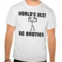 World's Best Big Brother, T-shirts