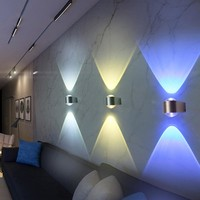 2 Pack: Modern Sconce Lamp Wall Lights
