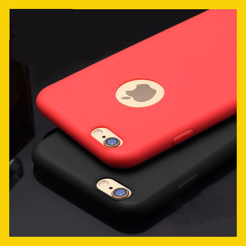 Newest TPU Capa For Iphone 6 Case Colorful Soft Silicon Phone Case For Iphone 6s Back Cover