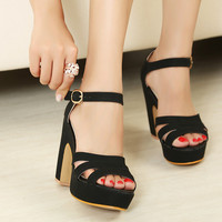 Candy Color High Heel Sandals for Women 061617