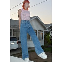 Lovefool High Rise Wide Leg Jeans