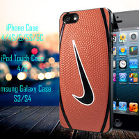 Nike Basketball Logo Samsung Galaxy S3/ S4 case, iPhone 4/4S / 5/ 5s/ 5c case, iPod Touch 4 / 5 case